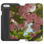 Double Blossoming Cherry Tree III Spring Floral iPhone 6/6s Wallet Case