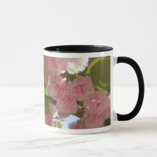 Double Blossoming Cherry Tree III Spring Floral Mug
