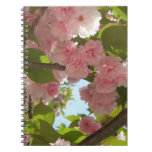 Double Blossoming Cherry Tree III Spring Floral Notebook