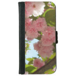 Double Blossoming Cherry Tree III Spring Floral Wallet Phone Case For iPhone 6/6s