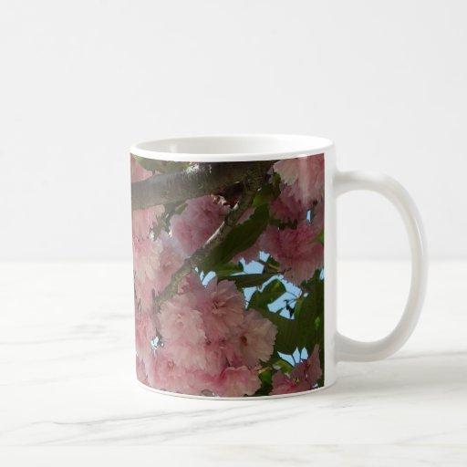 Double Blossoming Cherry Trees IV Mug