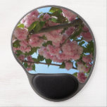 Double Blossoming Cherry Trees IV Pink Spring Gel Mouse Pad