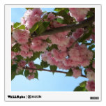 Double Blossoming Cherry Trees IV Pink Spring Wall Sticker