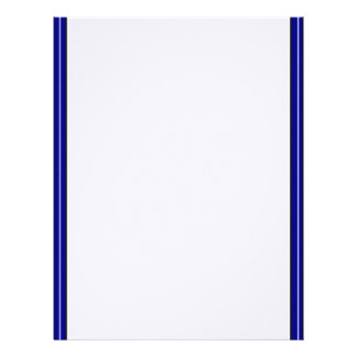 Double Blue Border Letterhead