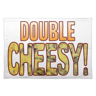 Double Blue Cheesy Cloth Placemat