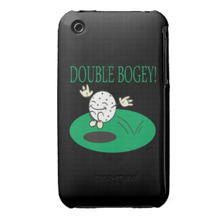Double Bogey iPhone 3 Cases