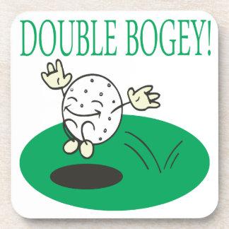 Double Bogey Drink Coasters