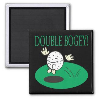 Double Bogey Fridge Magnet