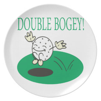 Double Bogey Plate