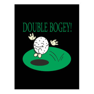 Double Bogey Postcard