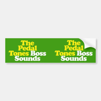 Double Boss Bumper Sticker