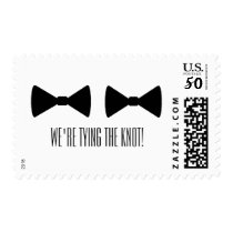 """""""Double Bow Ties"""" Postage Stamps"""