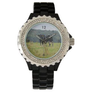 Double Cattle Troube Wrist Watch