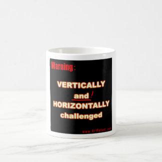 Double Challenged Classic White Coffee Mug