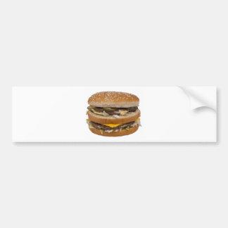 Double Cheese Burger Delite Bumper Sticker