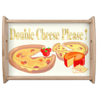 Double Cheese Please Food Trays