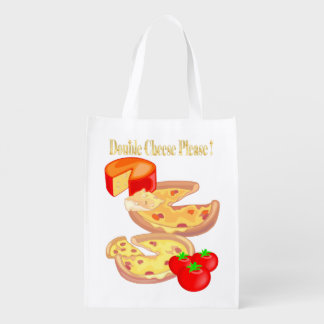 Double Cheese Please Market Tote