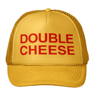 Double Cheese Trucker Hat