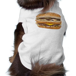 Double cheeseburger dog T-shirt