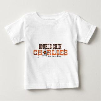 Double Chin Charlies Logo Apparell, Light Colors Tee Shirt