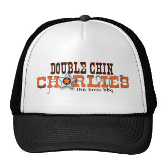 Double Chin Charlies Logo Apparell, Light Colors Trucker Hat