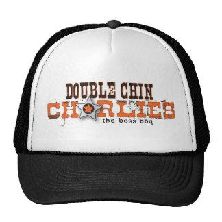 Double Chin Charlies..the boss bbq Trucker Hat