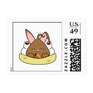 Double Chocolate Chip Hopdrop Sundae Postage Stamps