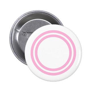 Double Circles Custom Zazzle Gift Item V02 Pinback Button