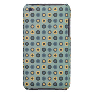 double circles masculine mustard iPod touch cover