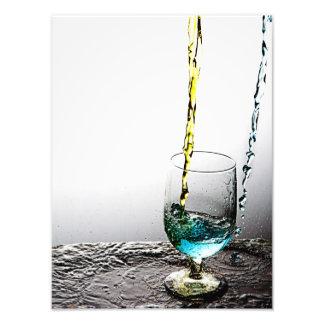 Double Cocktail Pour 2 Art Photo
