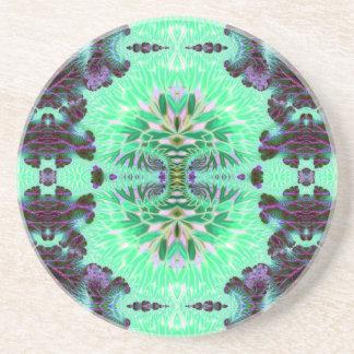 Double Component V 3  Sandstone Coaster
