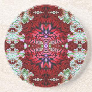 Double Component V 4  Sandstone Coaster