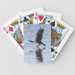 Double-crested Cormorant Bicycle Poker Cards