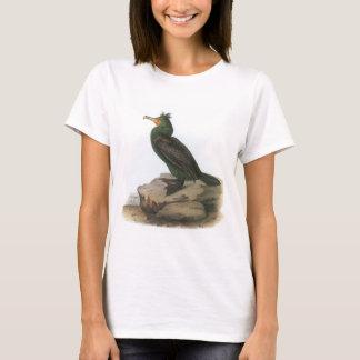 Double-crested Cormorant by Audubon T-Shirt