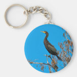 Double-crested Cormorant Keychain