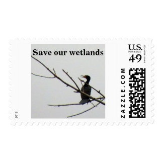 Double-crested Cormorant Postage