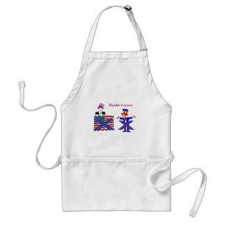 double crosser 2 adult apron