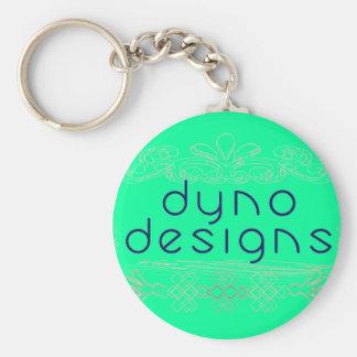 Double D Keychain