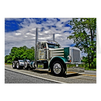 Double D Peterbilt 379 Note Card