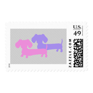 Double Dachshund | Sheet of Stamps