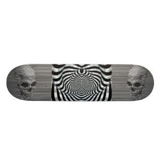 Double Death's Head Skateboard