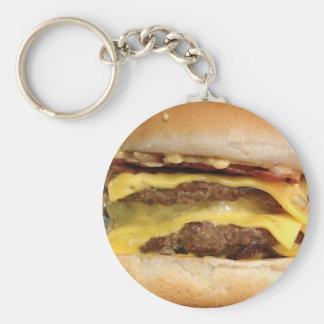 Double Decker Burger Keychain