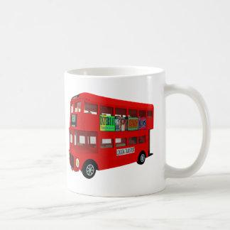 Double-decker bus coffee mug