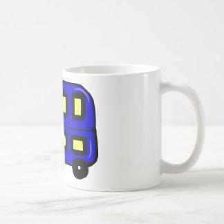 Double Decker Bus Coffee Mugs