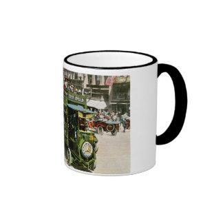 Double Decker Bus on 5th Avenue Mugs