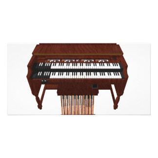 Double Decker Organ: 3D Model: Photo Card
