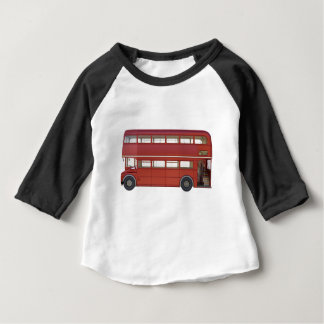 Double Decker Red Bus Baby T-Shirt