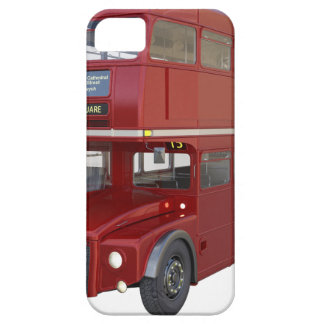 Double Decker Red Bus in Front Profile iPhone SE/5/5s Case