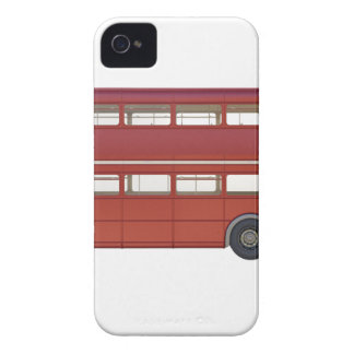 Double Decker Red Bus iPhone 4 Case-Mate Case