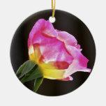 Double Delight Rose Ornament